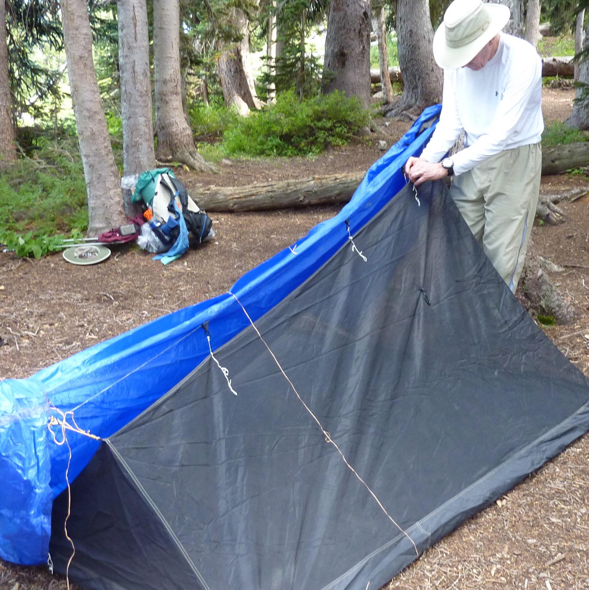how to make a drain tarp