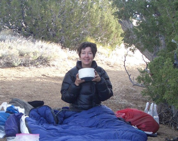 Gail's cafe mocha on the PCT