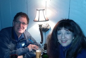 Porter & Gail at Antiquity restaurant in Old Town Albuquerque
